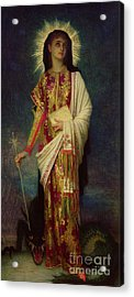 Saint Margaret Slaying The Dragon Acrylic Print