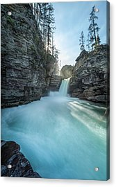 Saint Mary Falls // Glacier National Park  Acrylic Print