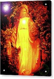 Saint Mary No. 01 Acrylic Print by Ramon Labusch