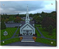 Saint Mary's Church From Above Acrylic Print