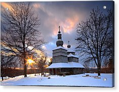 Saint Nicholas Chapel Acrylic Print