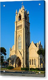 Saint Patrick Catholic Church Of Galveston Acrylic Print