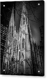 Saint Patrick's - At Night Acrylic Print