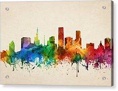 Saint Paul Minnesota Skyline 05 Acrylic Print