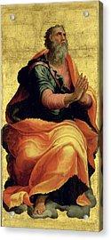 Saint Paul The Apostle Acrylic Print by Marco Pino