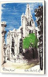 Saint Pierre Avignon Provence Acrylic Print by Martin Stankewitz