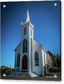 Saint Teresa Of Avila Church - Bodega, Sonoma County Acrylic Print