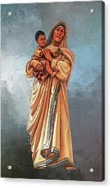 Acrylic Print featuring the photograph Saint Teresa Of Calcutta by Donna Kennedy