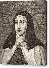 Saint Teresa Of Acrylic Print