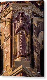 Acrylic Print featuring the photograph Saints Watch Over Us by Onyonet  Photo Studios