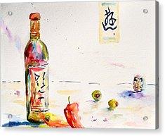 Sake Acrylic Print