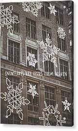 Saks Fifth Ave Quote Acrylic Print by JAMART Photography