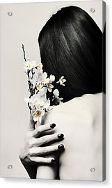 Sakura Acrylic Print by Art of Invi
