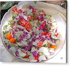 Salad Acrylic Print