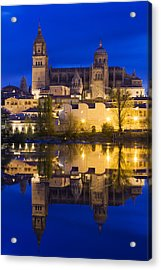 Salamanca Acrylic Print by Andre Goncalves