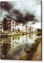 Sale Canal Acrylic Print by YoursByShores Isabella Shores
