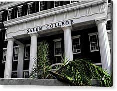 Acrylic Print featuring the photograph Salem College by Jessica Brawley