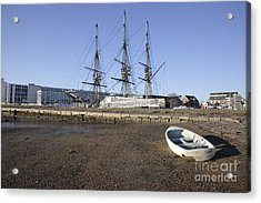 Salem Maritime National Historic Site In Salem  Massachusetts Usa Acrylic Print by Erin Paul Donovan