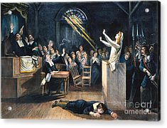 Salem Witch Trial, 1692 Acrylic Print by Granger