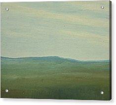 Salen Afternoon Light 90x60 Cm Acrylic Print