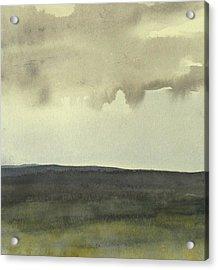 Salen Cloudy Weather. Up Tp 60 X 60 Cm Acrylic Print