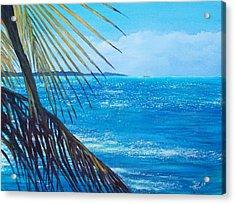 Salinas Seascape Acrylic Print by Tony Rodriguez