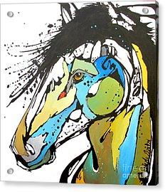 Sallie Acrylic Print