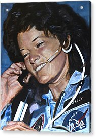 Sally Ride Acrylic Print