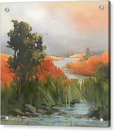 Salmon Creek Acrylic Print