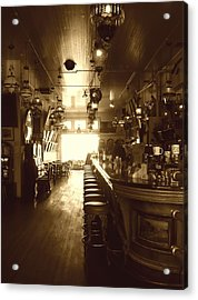 Saloon Acrylic Print