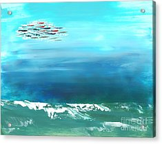Salt Air Acrylic Print