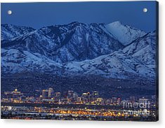 Salt Lake City Acrylic Print