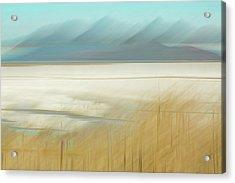 Salt Lake Salt  Acrylic Print