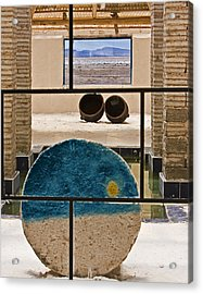 Salt Of The Earth Acrylic Print by Ron Dubin