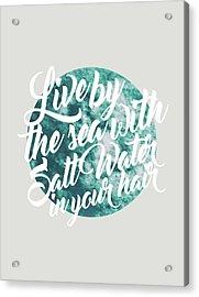 Salt Water Acrylic Print