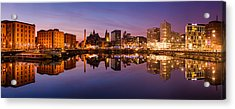 Salthouse Dock, Liverpool Acrylic Print by Alexis Birkill