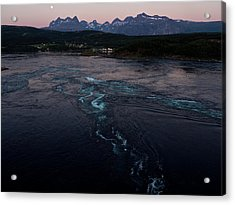 Saltstraumen, Magic Power Stream Acrylic Print