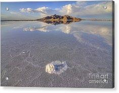 Salty Reflection Acrylic Print