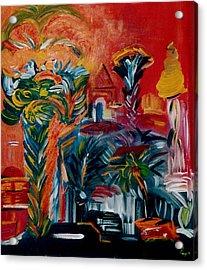 Salvador Da Bahia Acrylic Print by Michael Puya