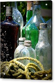 Salvaged From The Sea I Acrylic Print by Mg Blackstock