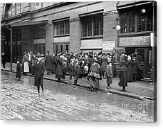 Salvation Army, 1908 Acrylic Print by Granger