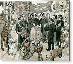 Salvation Army Acrylic Print by Peter Jackson