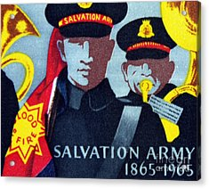 Salvation Army. Acrylic Print by Stan Pritchard