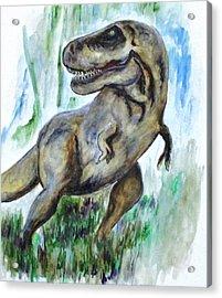Salvatori Dinosaur Acrylic Print