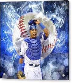 Salvy The Mvp Acrylic Print