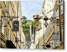 Salzburg Shopping Acrylic Print