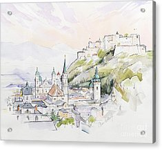 Salzburg Sunrise  Acrylic Print