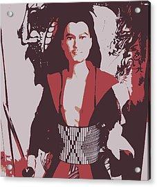Samarai Ken Acrylic Print