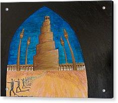 Samarra Acrylic Print by Julia Collard