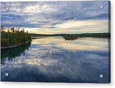 Sambro Basin I Nova Scotia Acrylic Print by Heather Vopni